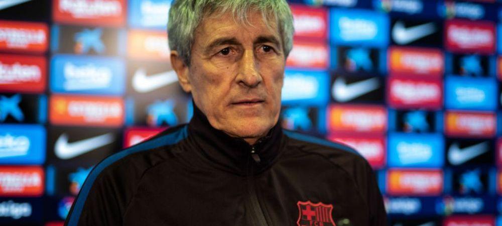 """M-a surprins!"" Quique Setien a sustinut PRIMA CONFERINTA ca antrenor al Barcelonei! Ce a spus despre echipa si cum va suplini absenta lui Suarez"