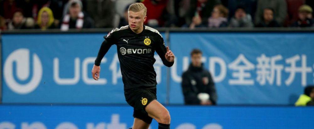 """""""Sunt uimit!"""" Prima reactie a lui Haaland dupa ce a intrat in istoria lui Dortmund! Fanii au reactionat imediat si l-au comparat cu un jucator GIGANTIC! Ce a spus"""