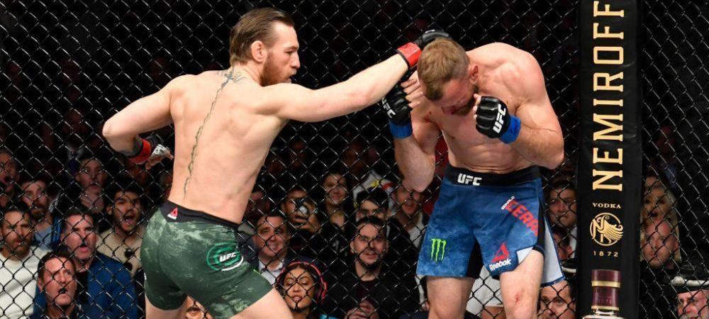McGREGOR vs COWBOY   Conor reuseste primul KO cu UMARUL din istoria MMA-ului! Victorie in doar 40 de secunde