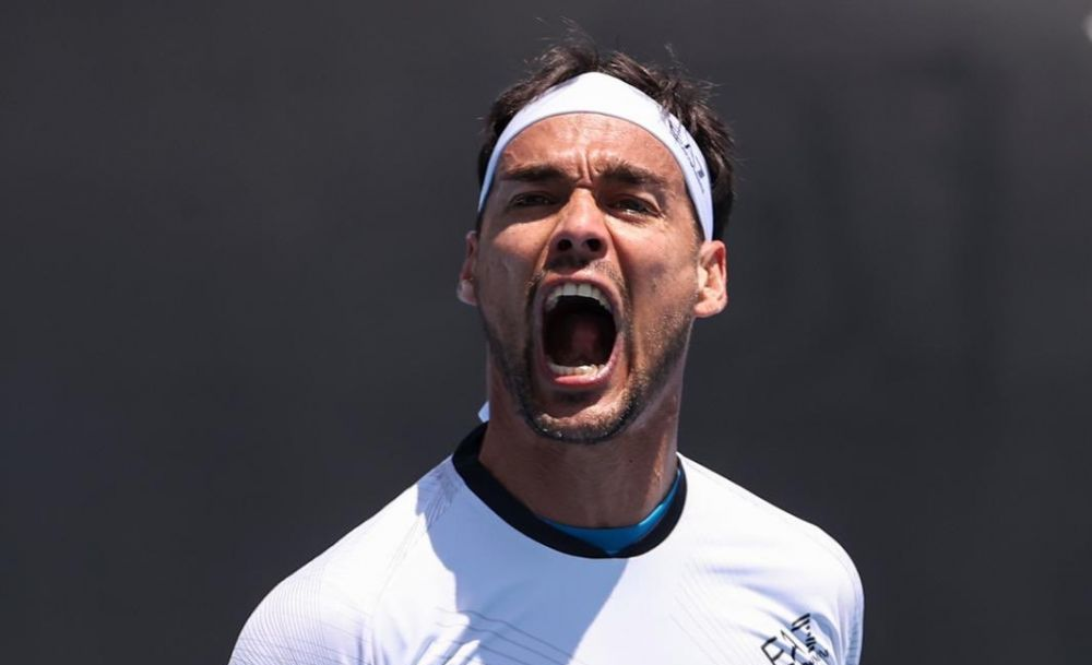 Fabio Fognini Australian Open 2020 tur 1 Reilly Opelka scandal