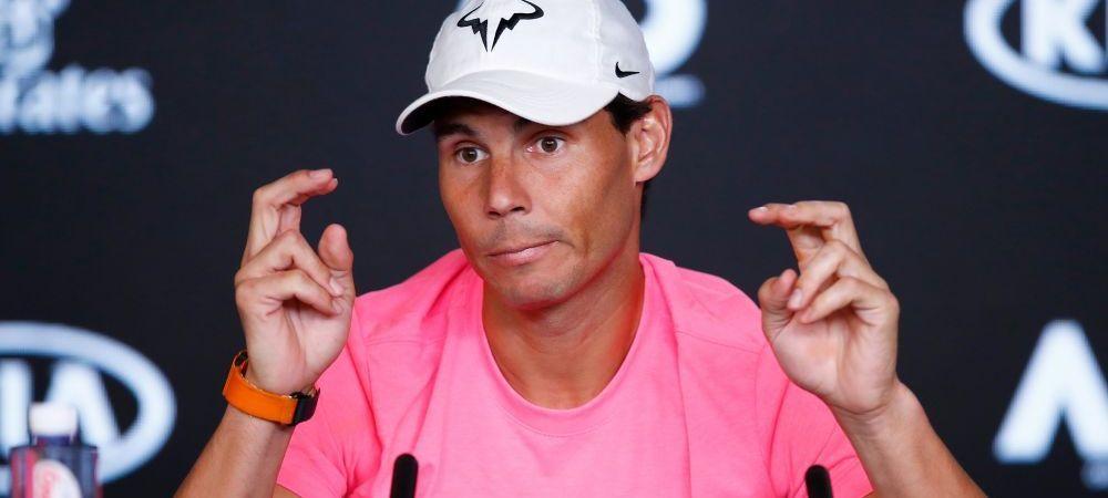 """Sotia mea e aici cu mine, deci trebuie sa am grija"" | Ce a putut sa spuna Rafael Nadal la Melbourne a devenit VIRAL pe internet"
