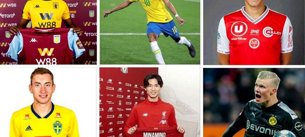 Cele mai importante transferuri din cele mai importante 5 campionate europene