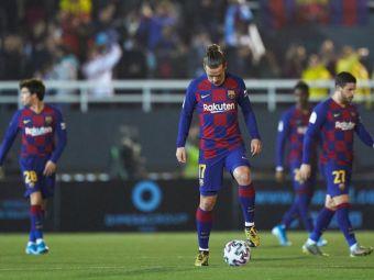 Fanii Ibizei AU RIDICULIZAT-O pe Barcelona in meciul de aseara! Ce au putut canta acestia pe toata durata meciului