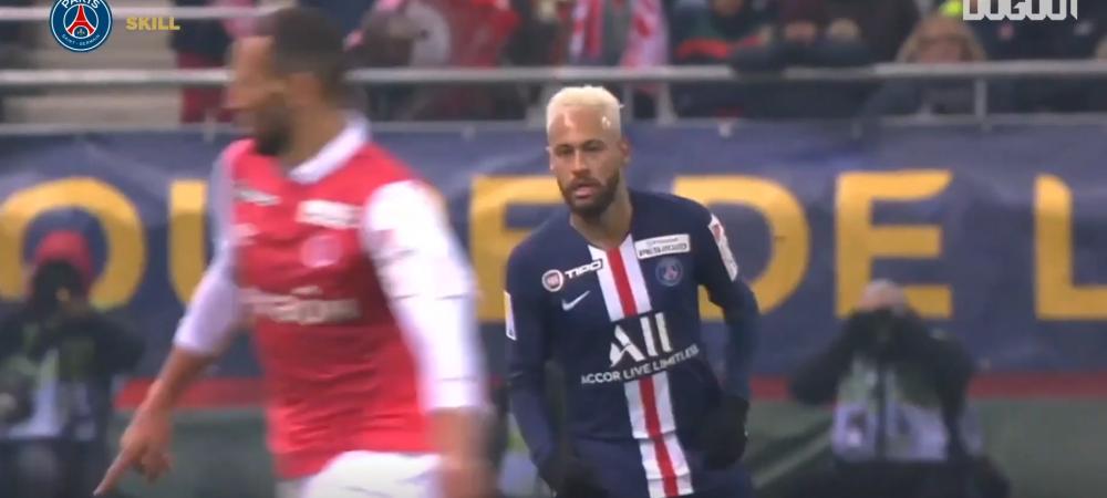 SPUNETI ca asta nu e MAGIE! :)) Neymar, momente INCREDIBILE pe teren: a pasat cu FUNDUL si a ridicat tot stadionul in picioare