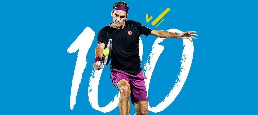 100% cel mai bun jucator din toate timpurile? Roger Federer devine primul jucator cu o suta de victorii la Openul Australian