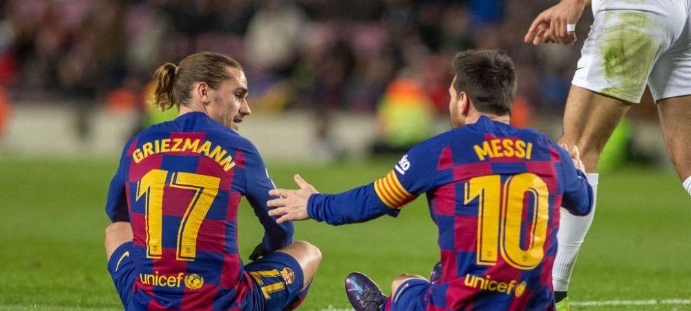 Griezmann l-a CASTIGAT complet pe Messi! Imagini SENZATIONALE cu francezul alaturi de cel mai rebel copil al argentinianului! Ce fac cei doi