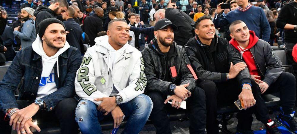 I-A UITAT PE MESSI SI SUAREZ? Neymar a mers IMPREUNA cu coechipierii sai la un meci de baschet
