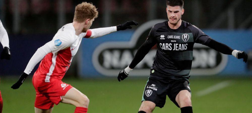 Critici DURE pentru Tudor Baluta dupa meciul de debut la ADO Den Haag! Ce a scris presa olandeza de jucatorul roman