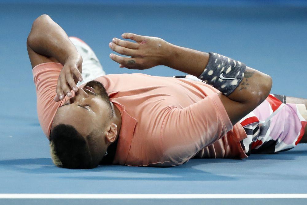 Nick Kyrgios Australian Open 2020