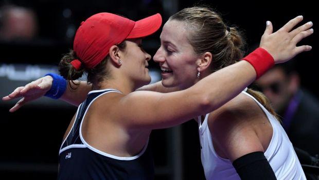 """""""O iubesc pe Kvitova, dar sper sa nu imi franga inima""""DECLARATIA TURNEULUI vine din partea liderului WTA, Ashleigh Barty"""