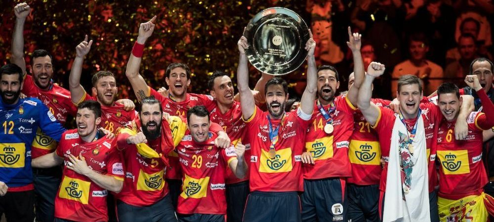 Spania, DIN NOU Campioana Europeana la handbal! 22-20 cu Croatia in finala de la Stockholm