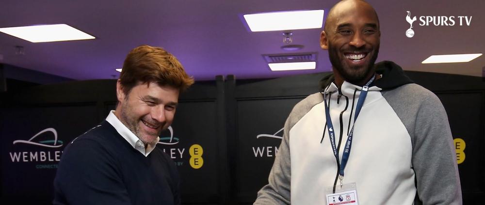"""""""Suntem aici cu REGELE Kobe!"""" Bryant, fanul lui Tottenham: era indragostit de Harry Kane si a fost la meciul cu Liverpool! VIDEO"""