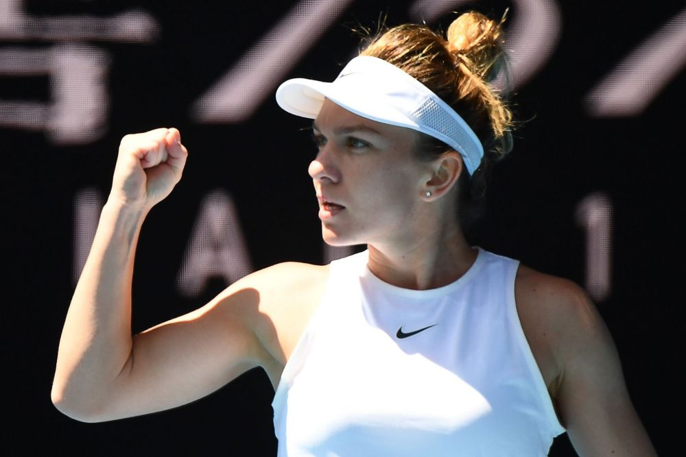 Simona Halep Australian Open 2020 Melbourne