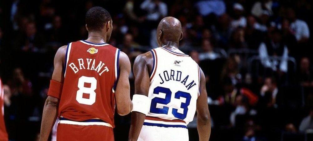 """Mesajul lui Michael Jordan dupa tragedia lui Kobe Bryant! """"Nu pot descrie durerea pe care o simt"""""""