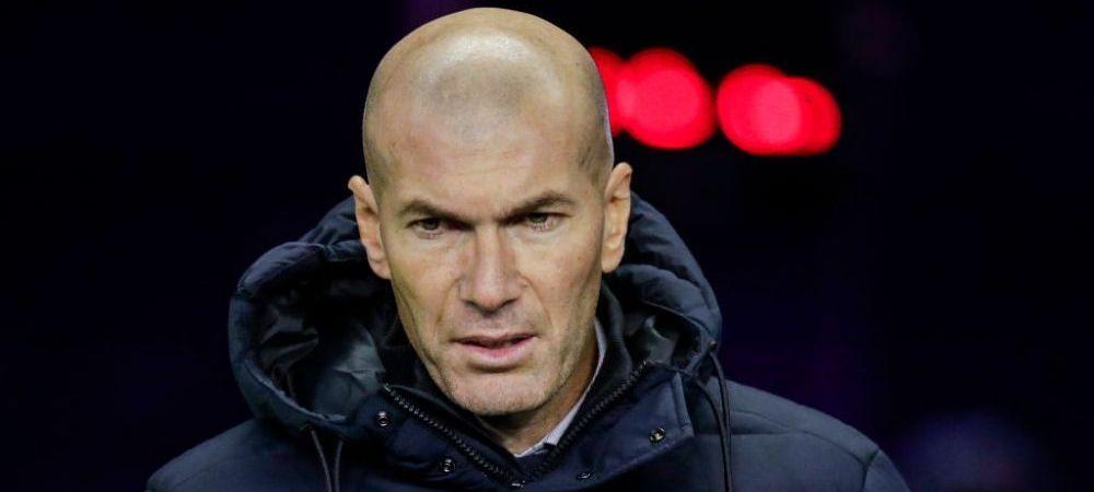 Asta ar fi SOCUL SEZONULUI! Real Madrid se afla intr-o forma senzationala, dar Zinedine Zidane se gandeste SA PLECE