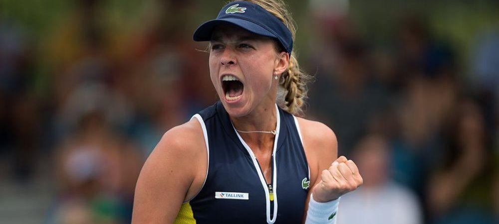 DRAMA SUFERITA de adversara Simonei Halep in sferturi la Australian Open i-a lasat muti pe fanii tenisului