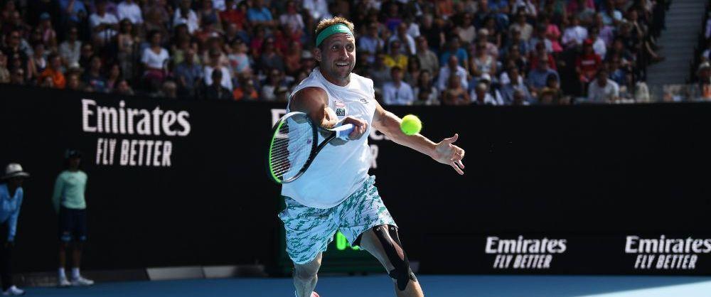 VIDEO  MOTIVUL SECRETpentru care Tennys Sandgren a ratat 7 mingi de meci in fata lui Roger Federer: cum a facut americanul HAZ DE NECAZ
