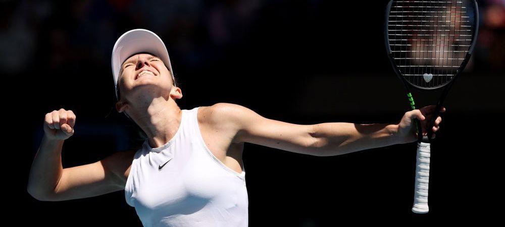 """""""Acum am sentimentul ca nu mai e imposibil sa castig un turneu de Grand Slam""""   Simona Halep, singura jucatoare fara set pierdut la AO 2020"""