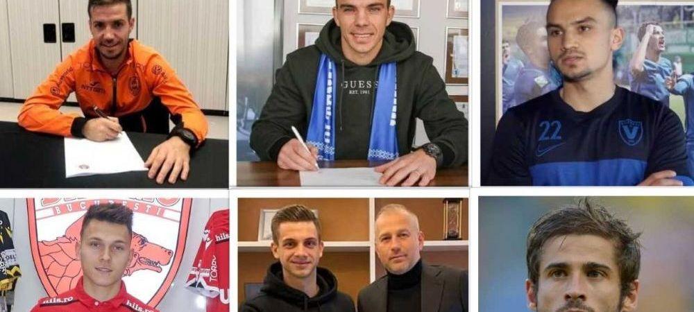 Bursa Transferurilor | Toate mutarile facute de cluburile din Liga 1 in aceasta iarna si cum arata acum echipele