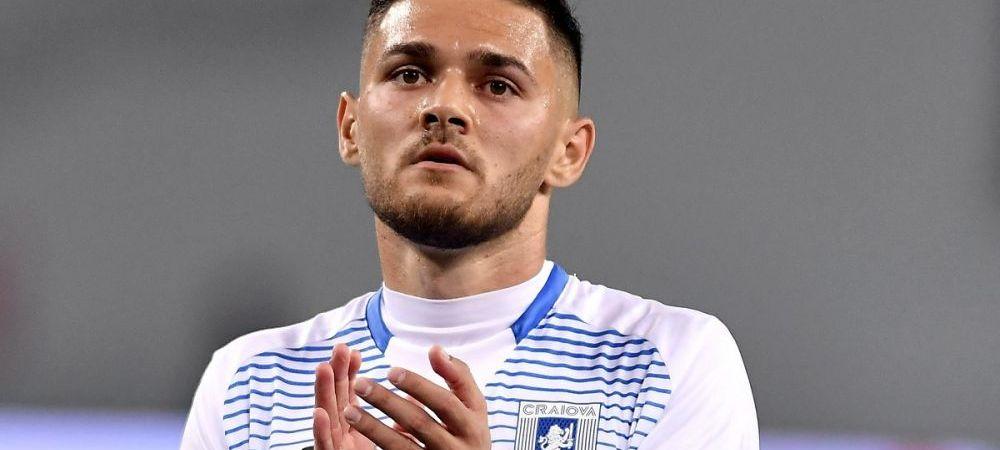 Alexandru Ionita a fost transferat! Universitatea Craiova a decis sa se desparta de mijlocas. La ce club a ajuns