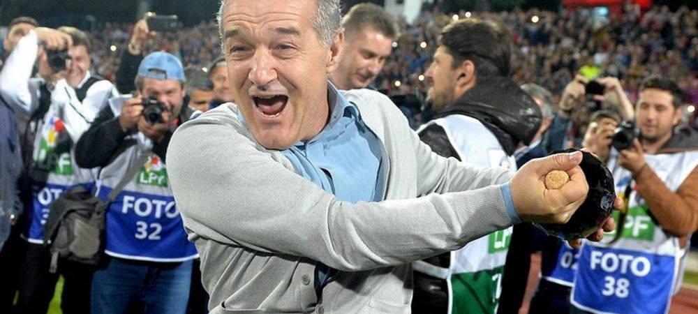 """Gigi Becali: """"O sa se umple peluza, o sa avem galerie adevarata!"""" Ce spune patronul FCSB-ului despre revenirea Peluzei Nord! Intepatura pentru CSA Steaua"""