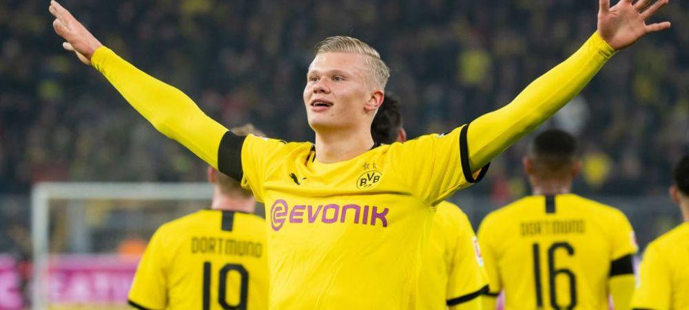 A semnat RECENT cu Borussia, dar poate pleca MAI REPEDE decat se preconiza! Clauza NEASTEPTATA pe care Haaland o are in contract