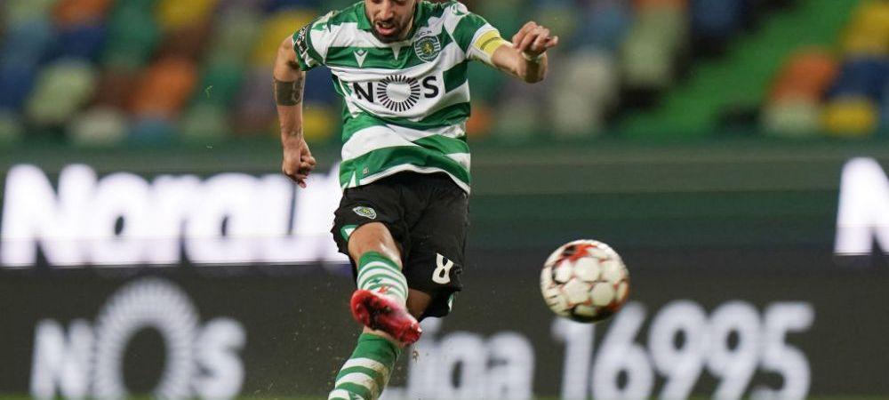 Manchester United a anuntat OFICIAL transferul lui Bruno Fernandes! Au dat un MUNTE DE BANI pentru jucatorul portughez care trebuia sa ajunga la Barcelona