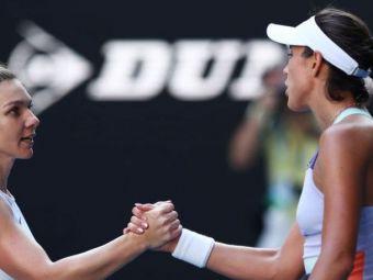 """""""Uriasa Garbine!"""" Ce scrie presa internationala dupa eliminarea Simonei Halep de la Australian Open"""