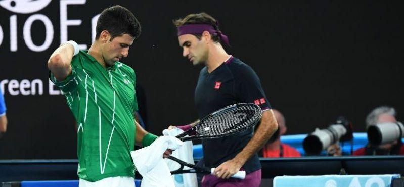 NEMILOSUL DJOKOVIC il rapune pe Federer in minimum de seturi si il asteapta in finala pe invingatorul dintre Zverev si Thiem