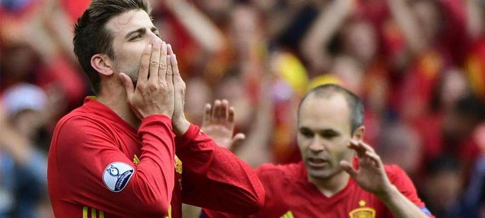 """Revenire spectaculoasa! Andres Iniesta si Gerard Pique ar putea juca din nou pentru Spania! """"Se poate intampla. De ce nu?"""""""