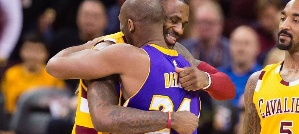 LeBron il va purta pe Kobe Bryant MEREU cu el! Omagiul STARULUI NBA pentru prietenul sau