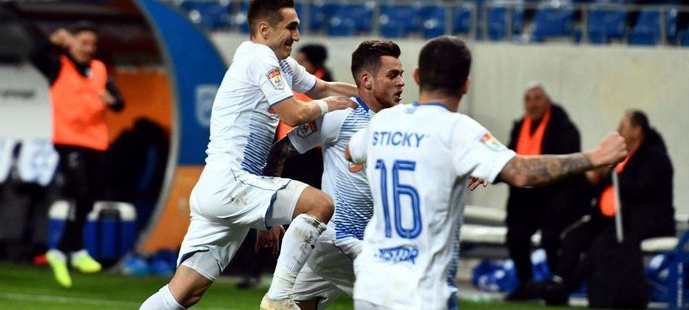 Craiova - Gaz Metan 3-1 | Victorie clara pentru olteni in prima partida din Liga 1 in 2020! Craiova vine la 4 puncte in spatele liderului CFR Cluj