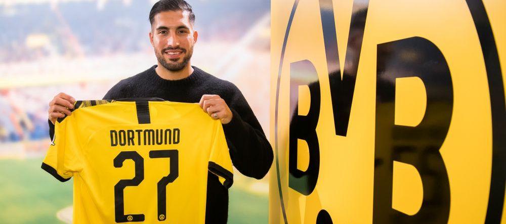 OFICIAL | Borussia Dortmund si-a adus un super mijlocas! Fost castigator al Ligii Campionilor, campion in Serie A si Bundesliga | TOATE TRANSFERURILE ZILEI