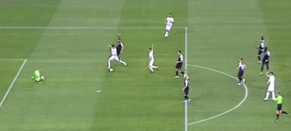 Sa vina VAR in Liga 1! Craiova a avut un gol anulat in finalul primei reprize pentru offside! Pozitie la limita in care a fost surprins Luis Nitu