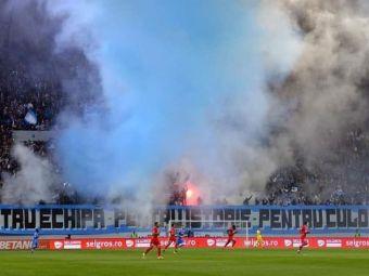 Razboi civil la Craiova: Pigliacelli atacat de peluza! Suporterii s-au impartit in doua: ce s-a intamplat pe stadion