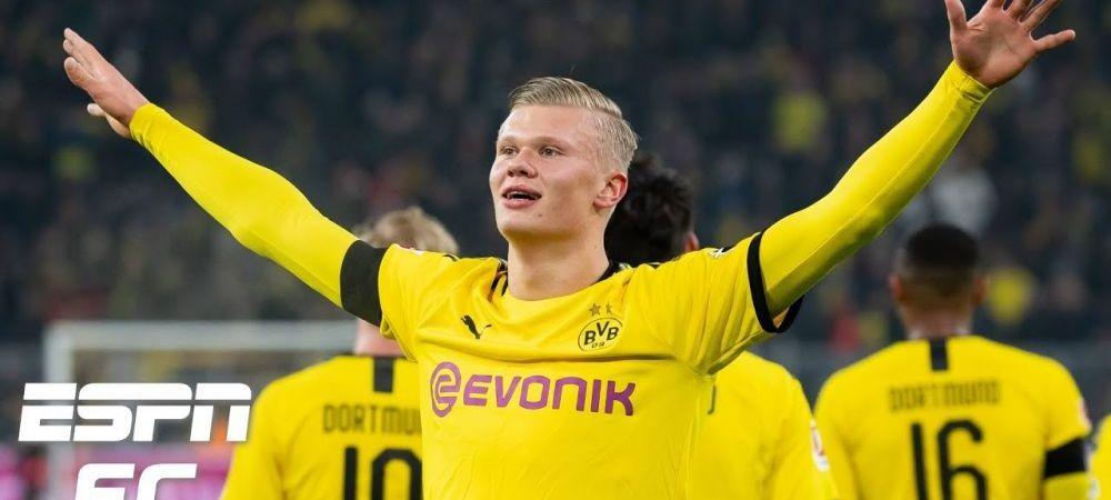 Erling Haaland NU POATE sa se opreasca din dat goluri! DIAMANTUL de la Dortmund a ajuns la 7 goluri in 3 meciuri! VIDEO: cum a marcat cu Union