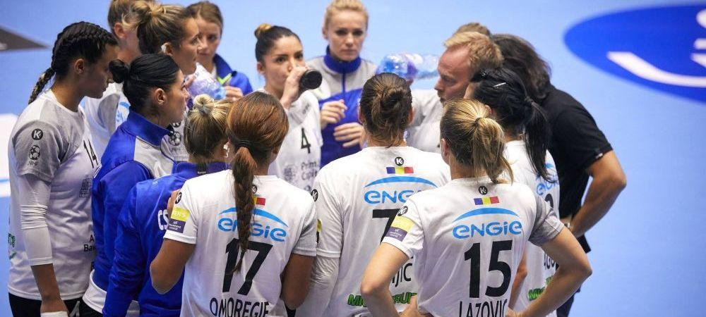 LIVESCORE CSM BUCURESTI - METZ 22-17 | CSM ataca sferturile de finala din Liga Campionilor