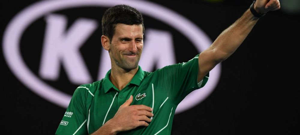 """Cum a reactionat Novak Djokovic la primirea vestii retragerii Mariei Sharapova:""""Imi pare rau, dar poate fi mandra de ea insasi""""   VIDEO cu sarbul imitand-o pe rusoaica"""
