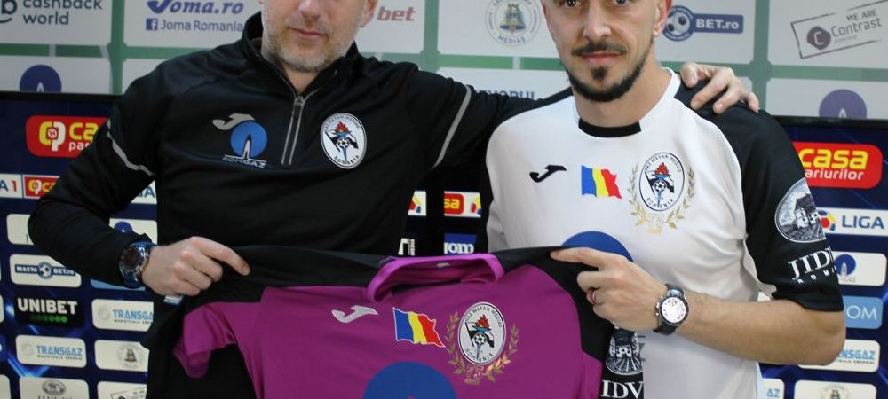 Surprize pentru Edi Iordanescu si jucatorii de la Gaz Metan Medias! Ce au primit din partea sponsorului