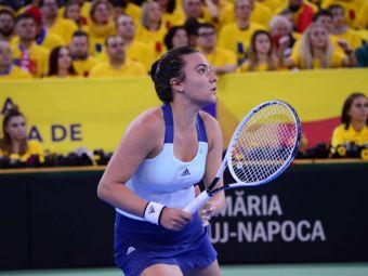 """Gabriela Ruse, IN LACRIMI dupa infrangerea suferita la debutul in Fed Cup: """"Sunt suparata, nu stiu daca voi dormi bine la noapte"""""""