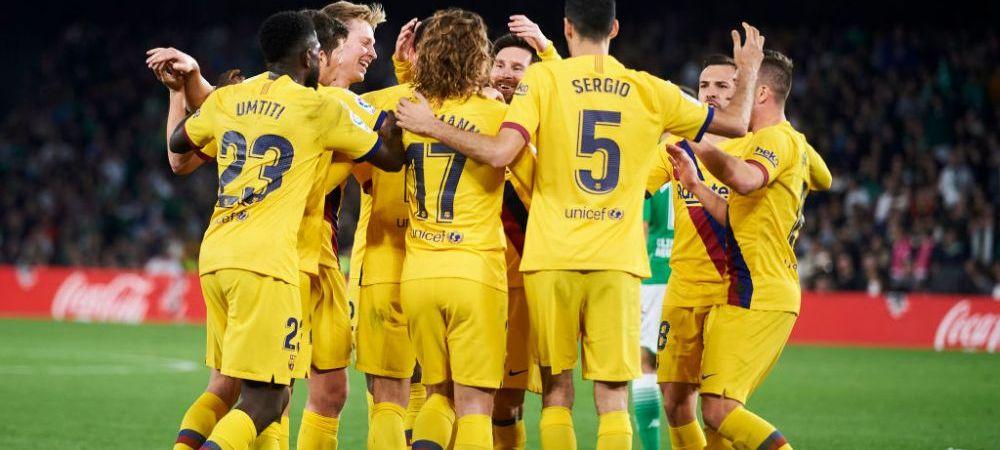 SEARA DEMENTA IN EUROPA! Derby-uri fantastice: Barcelona castiga DRAMATIC cu Betis! 3-2   Inter a REVENIT de la 2-0 pentru Milan si a invins cu 4-2   PSG s-a impus cu Lyon, 4-2