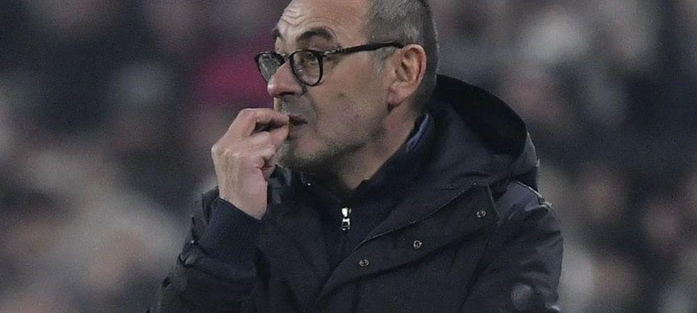 Juventus a pierdut pozitia de lider si vrea sa il demita pe Maurizio Sarri! Cine e favorit sa ii ia locul antrenorului italian