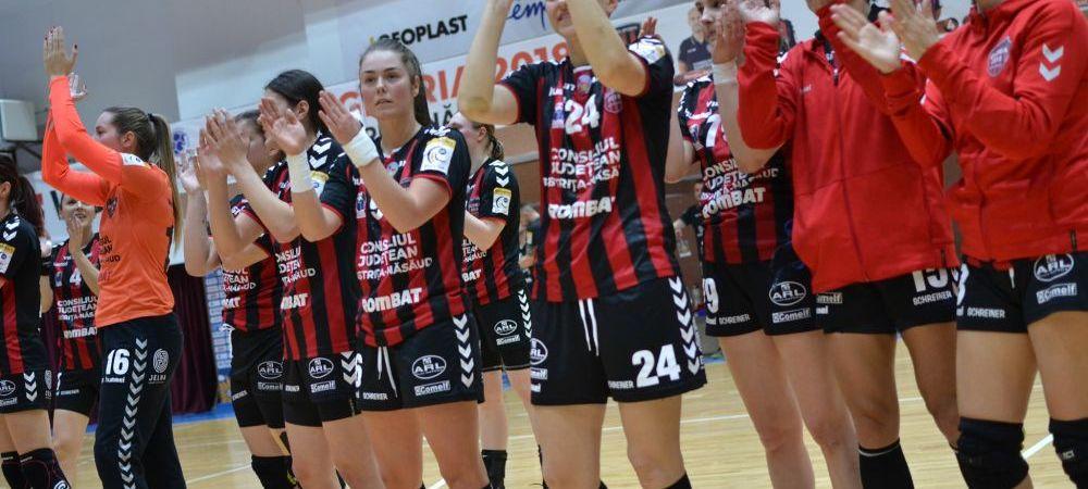 """Gloria Bistrita, singura reprezentanta a Romaniei in Cupa EHF, si-a aflat adversarul din """"sferturile de finala"""""""