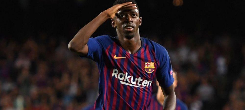 Dembele, OUT tot restul sezonului! Barcelona a emis un comunicat OFICIAL prin care anunta ca operatia francezului a reusit! Cand revine pe teren