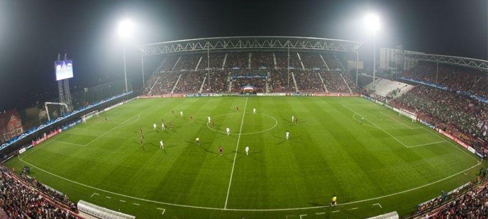 CFR Cluj vrea sa umple cu orice pret stadionul la meciul cu Sevilla! Ce decizie au luat ardelenii pentru ca atmosfera sa fie de zile mari