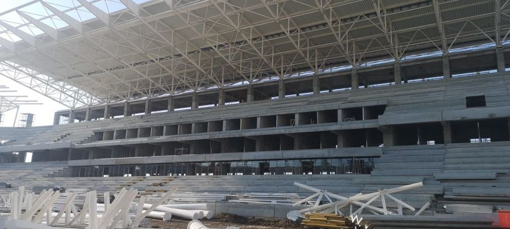 Ultimele IMAGINI cu stadioanele pentru EURO! Stadionul Steaua este cel mai APROAPE de finalizare! Giulesti este un MUNTE DE NISIP | VIDEO