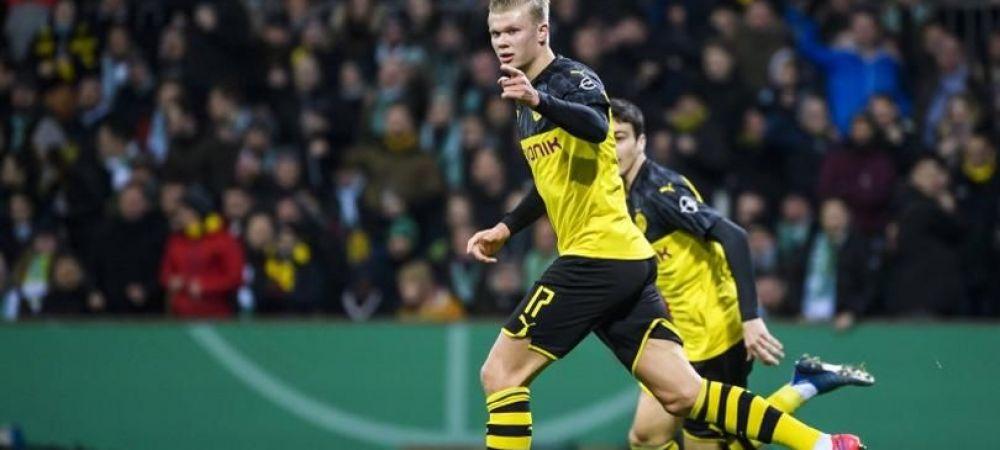 Erling Haaland a impresionat pe toata lumea! Fotbalistul a cucerit primul trofeu individual dupa transferul la Dortmund