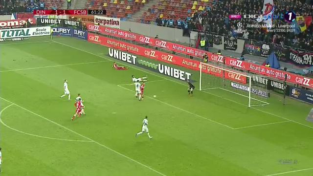 Dinamo - FCSB 2-1 |Dinamo se impune in marele derby cu FCSB! Meci NEBUN pe Arena Nationala! Vezi ce s-a intamplat