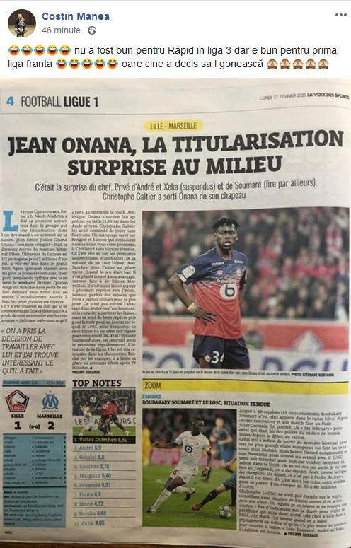 Nu a fost bun pentru Rapid in Liga a 3-a, acum e titular la fosta campioana a Frantei! TEAPA incredibila in Romania: cine l-a refuzat