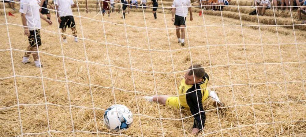 Se organizeaza Campionatul National de Fotbal al Fermierilor. Borcea, Becali, Porumboiu si Basescu ar fi putut participa si ei